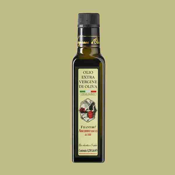 olio extravergine oliva 0,250lt
