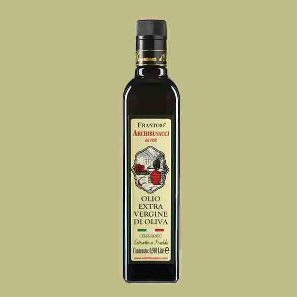 olio extravergine oliva 0,500lt