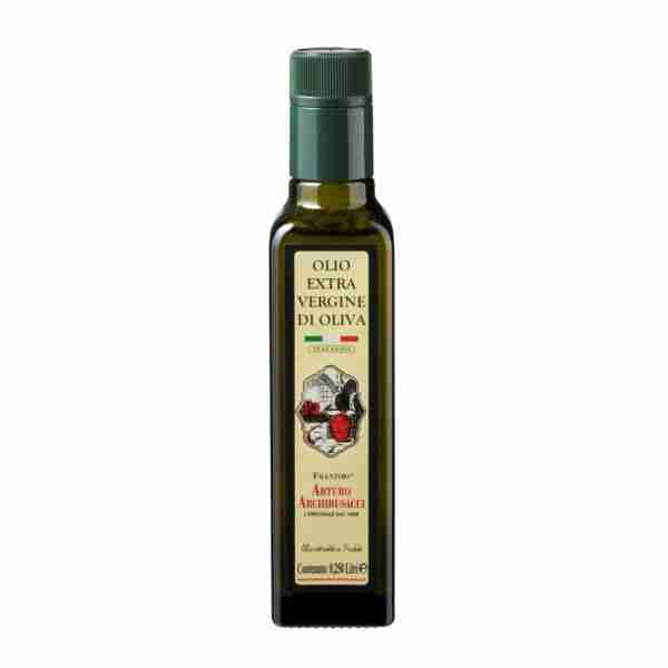 olio extravergine oliva 0,250 lt
