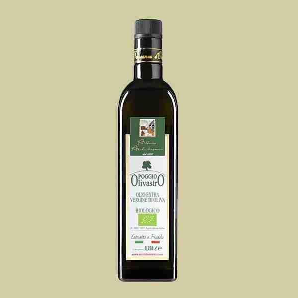 olio extravergine oliva biologico Poggio Olivastro 0,750lt