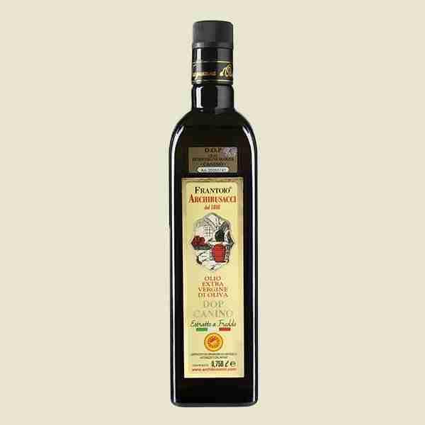 olio extravergine oliva Dop Canino 0,750lt