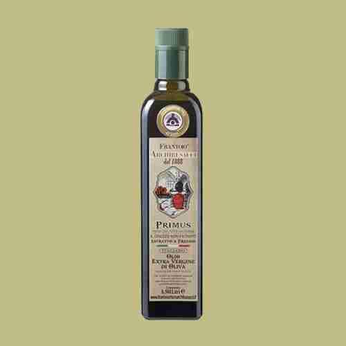 olio extravergine oliva Primus non filtrato 0,500lt