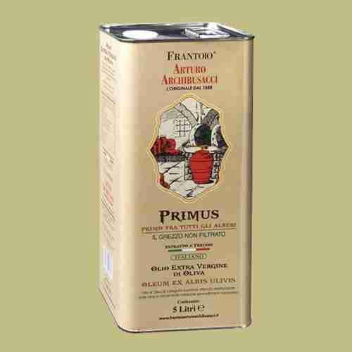 olio extravergine oliva Primus non filtrato 5lt