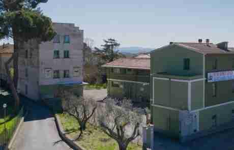 Veduta esterna del Frantoio, sede Via del Boschetto, 3